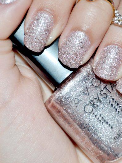 Resenha: esmalte Avon Rosa Crystal