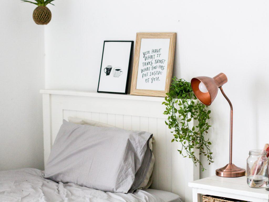 arrume sua cama e tenha uma rotina matinal